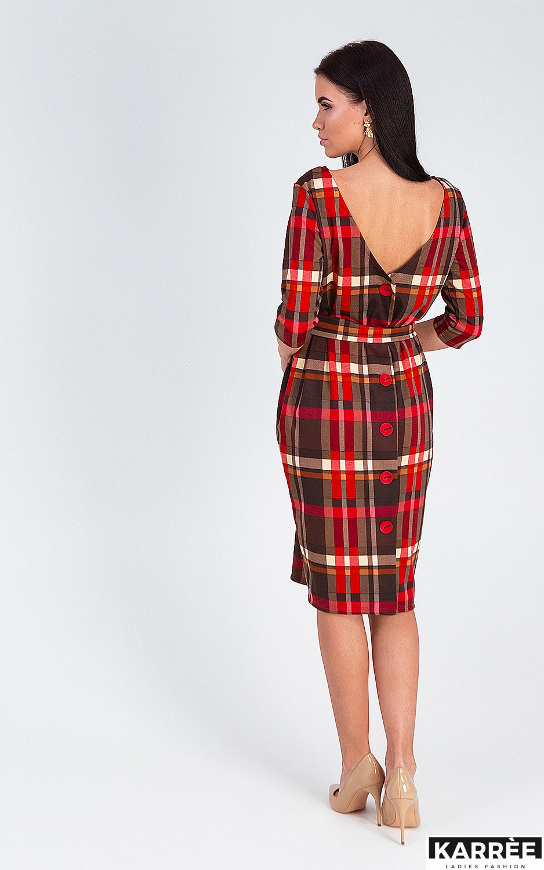 Платье Париж, Красный