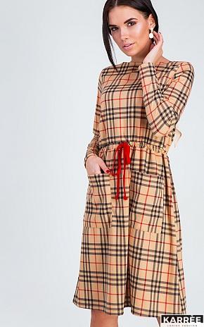 Платье Сорренто, Бежевый - фото 1