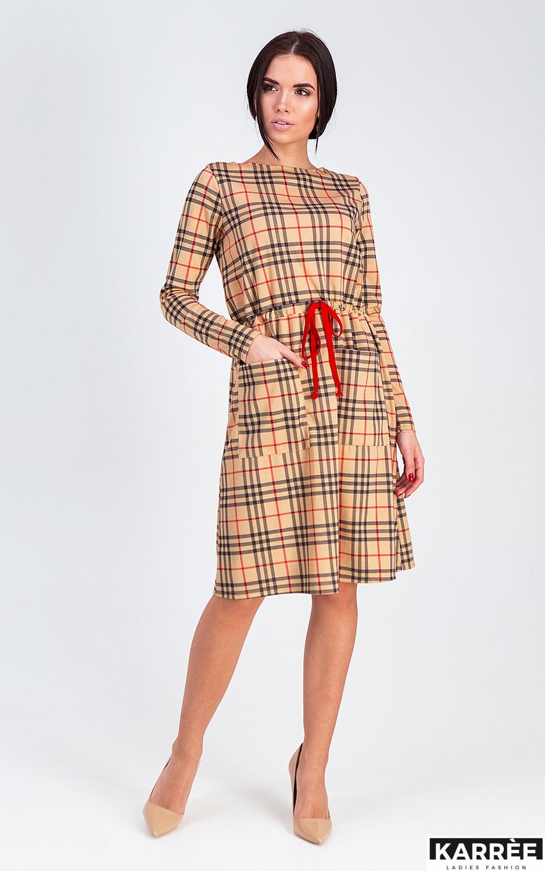 Платье Сорренто, Бежевый - фото 2