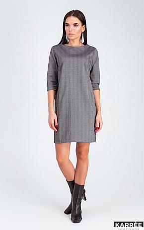 Платье Софи, Темно-серый - фото 1