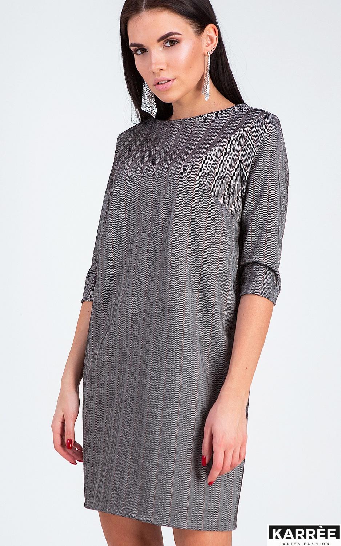Платье Софи, Темно-серый - фото 3
