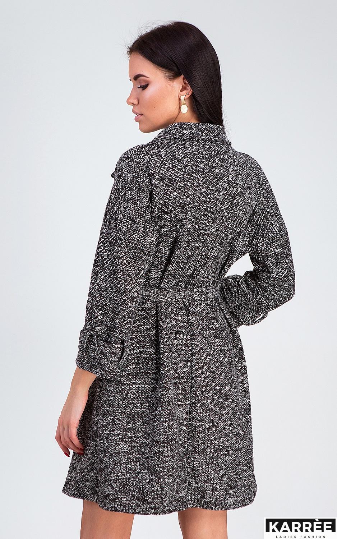 Платье Тара, Черный - фото 4