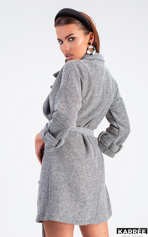Платье Тара, Серый - фото 3