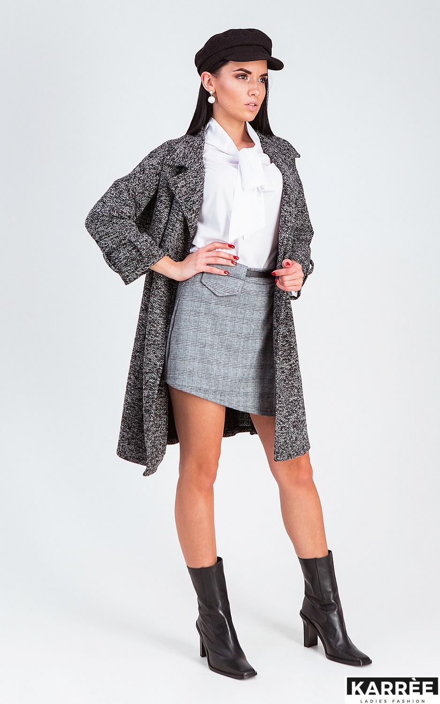 Юбка-шорты Монте, Серый - фото 5