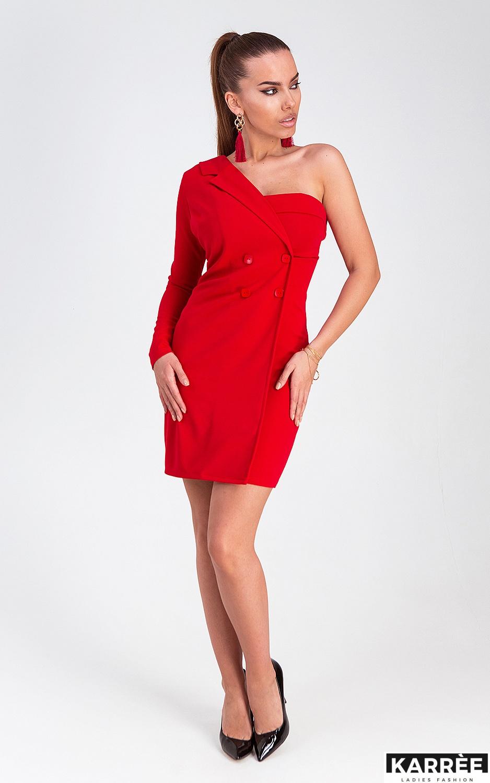 Платье Авиньон, Красный - фото 3
