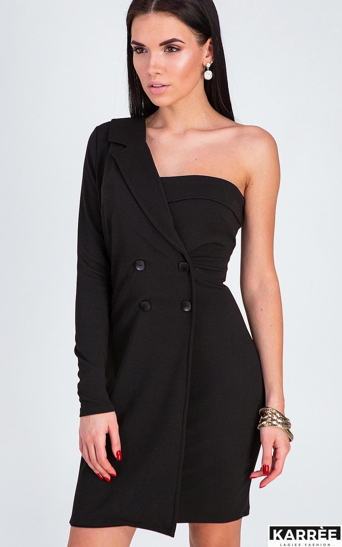 Платье Авиньон, Черный