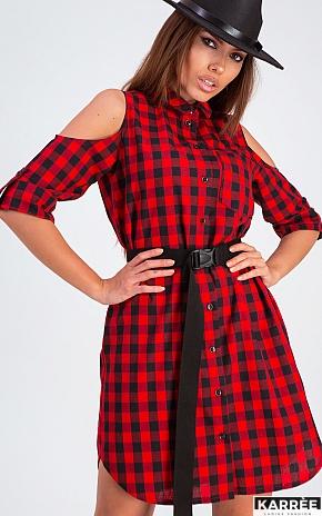 Платье Фоджи, Красный - фото 1