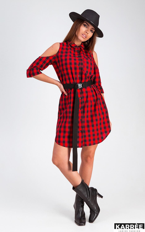 Платье Фоджи, Красный