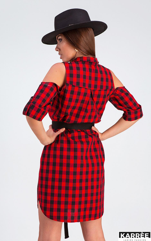 Платье Фоджи, Красный - фото 3