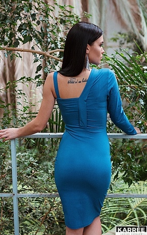 Платье Перу, Джинсовый - фото 1