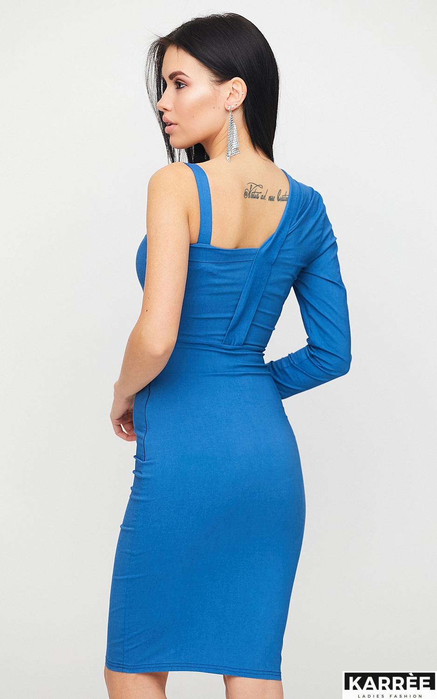 Платье Перу, Джинсовый - фото 4