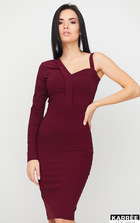 Платье Перу, Бургунди