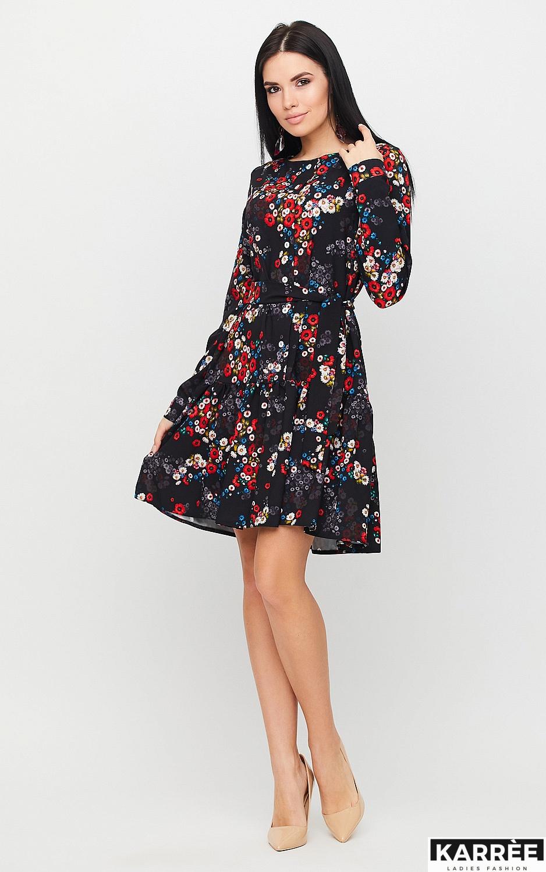 Платье Шанхай, Черный