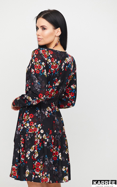 Платье Шанхай, Черный - фото 4