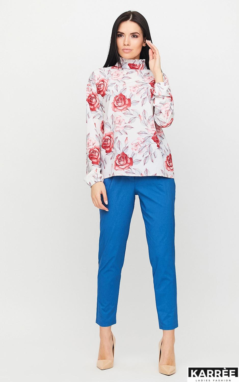 Блуза Фиби, Белый - фото 3