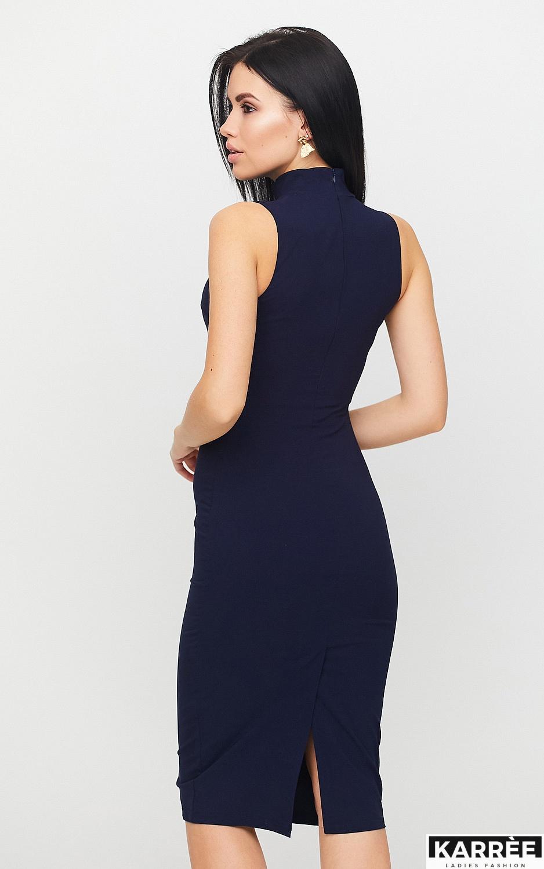 Платье Одри, Темно-синий