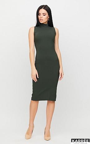 Платье Одри, Хаки - фото 1