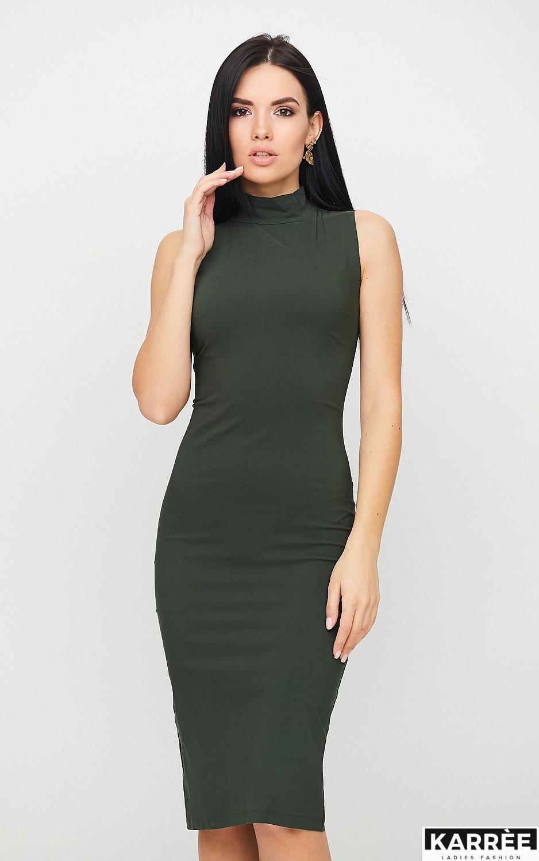 Платье Одри, Хаки