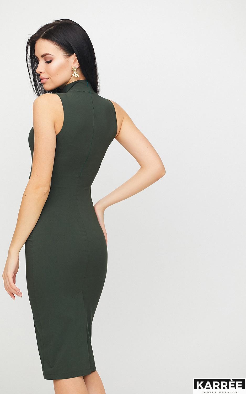 Платье Одри, Хаки - фото 3