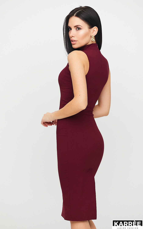 Платье Одри, Бургунди