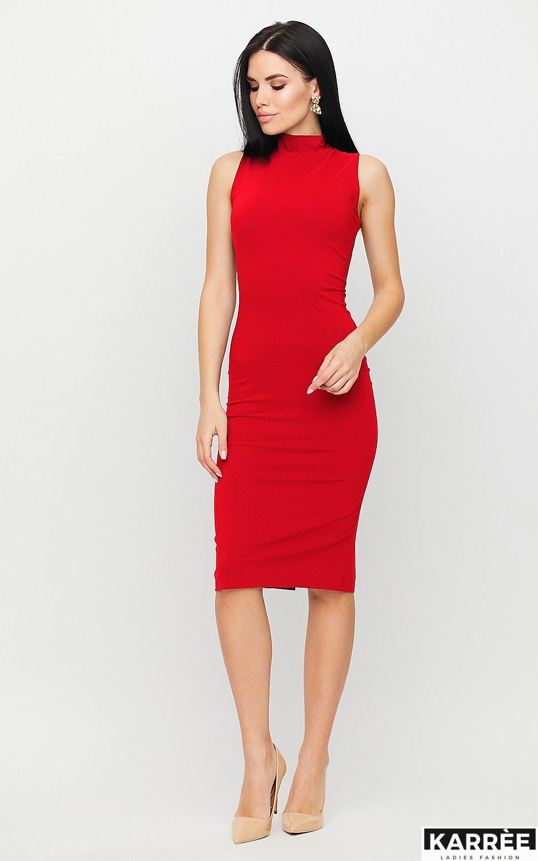 Платье Одри, Красный - фото 3