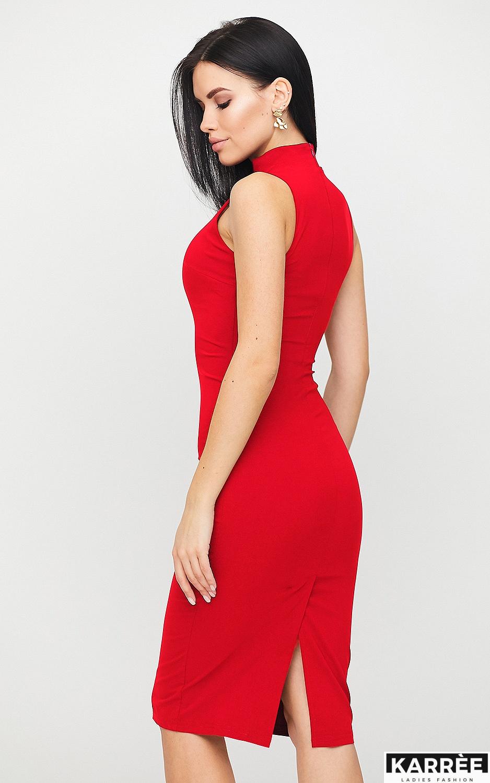 Платье Одри, Красный