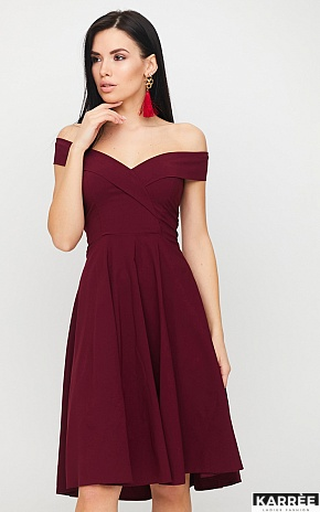 Платье Вермут, Бургунди - фото 1