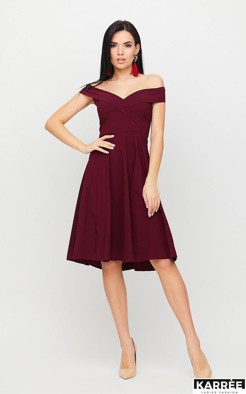 Платье Вермут, Бургунди - фото 3