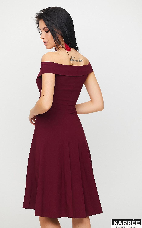 Платье Вермут, Бургунди - фото 2