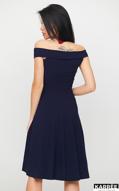 Платье Вермут, Темно-синий