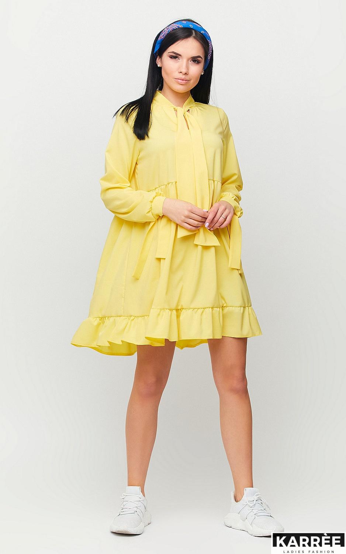 Платье Лесли, Желтый - фото 4