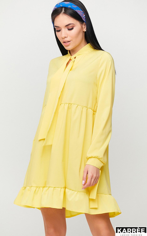 Платье Лесли, Желтый - фото 3