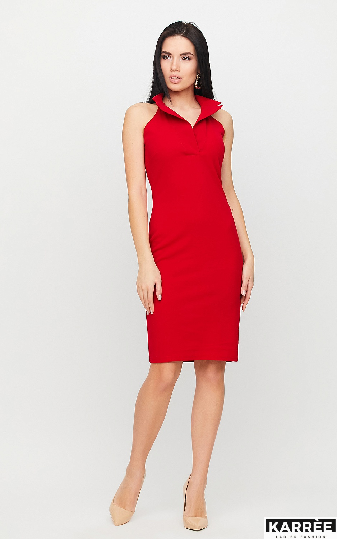 Платье Лестер, Красный - фото 3