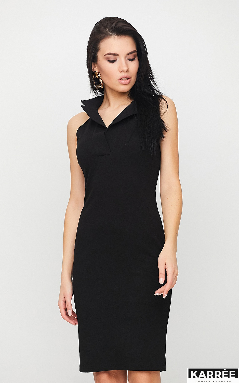 Платье Лестер, Черный