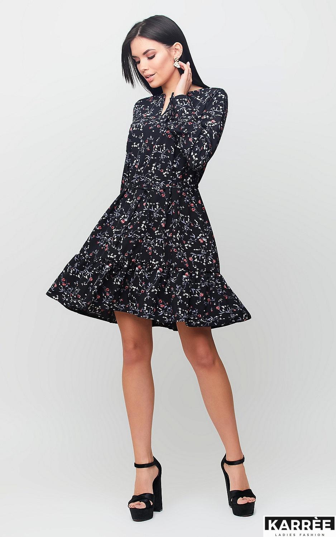 Платье Миллер, Черный - фото 1