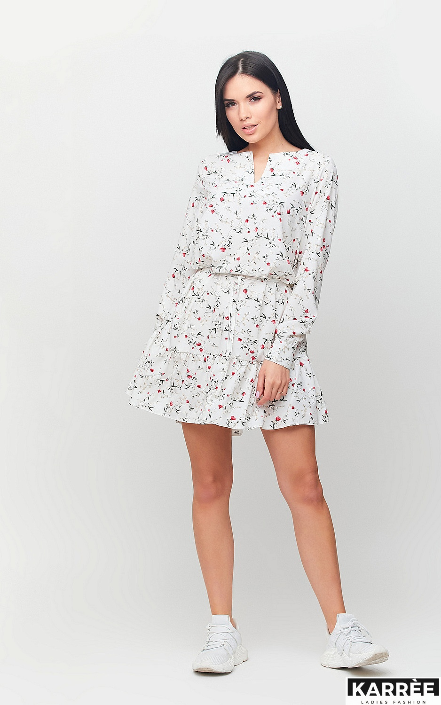 Платье Миллер, Белый - фото 4