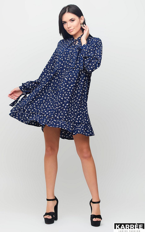 Платье Энели, Темно-синий - фото 2