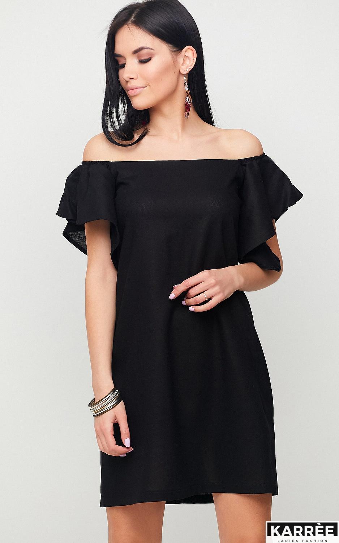 Платье Каир, Черный - фото 1