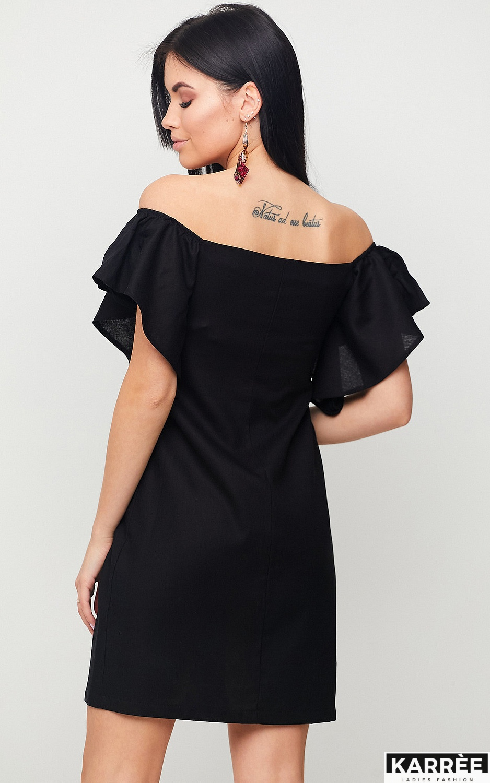 Платье Каир, Черный - фото 2