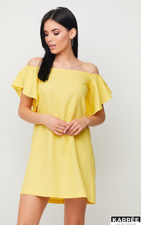 Платье Каир, Желтый - фото 2