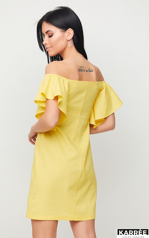 Платье Каир, Желтый - фото 3