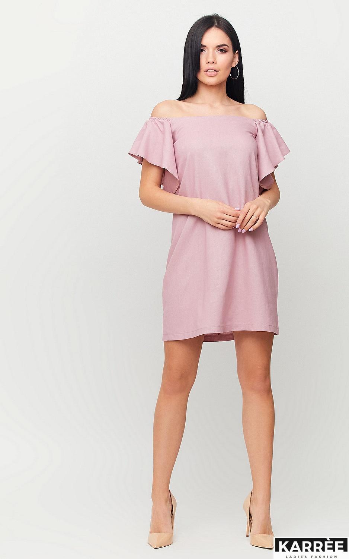 Платье Каир, Пыльно-розовый - фото 4