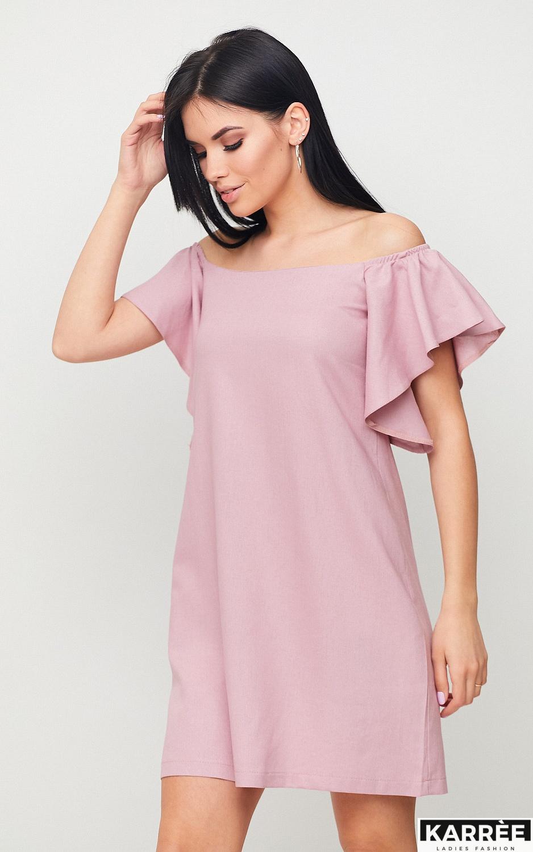 Платье Каир, Пыльно-розовый - фото 2