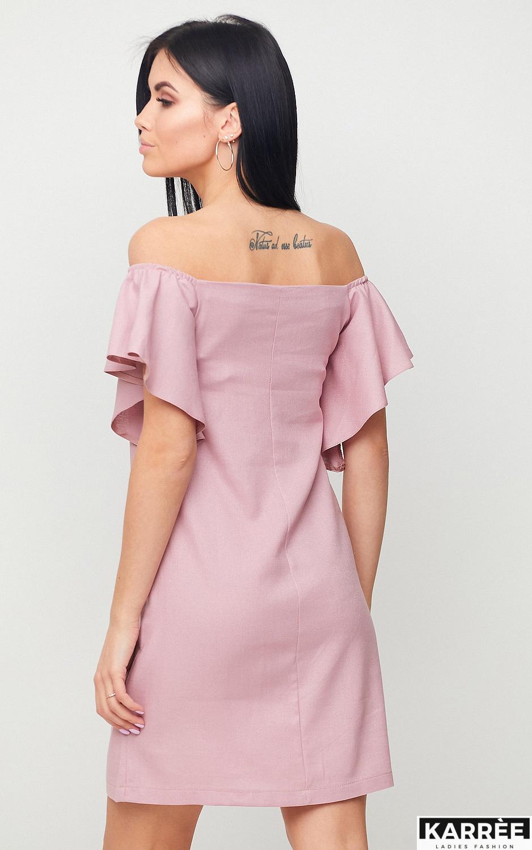 Платье Каир, Пыльно-розовый - фото 3