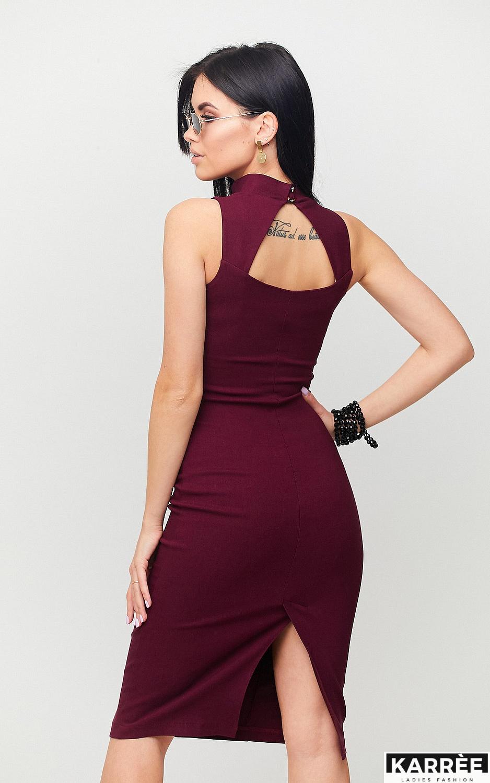 Платье Илона, Марсала - фото 2
