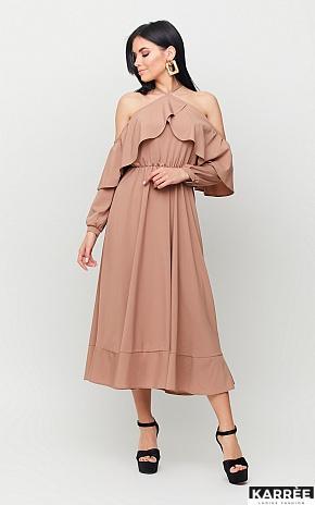 Платье Френсис, Мокко - фото 1