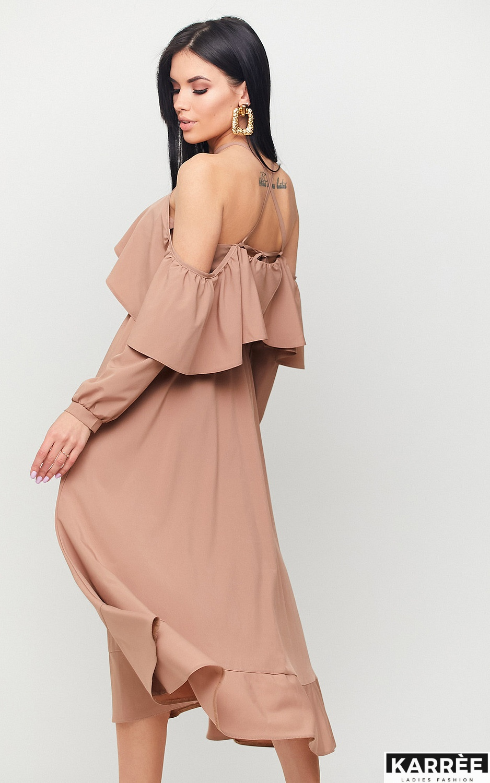 Платье Френсис, Мокко - фото 3