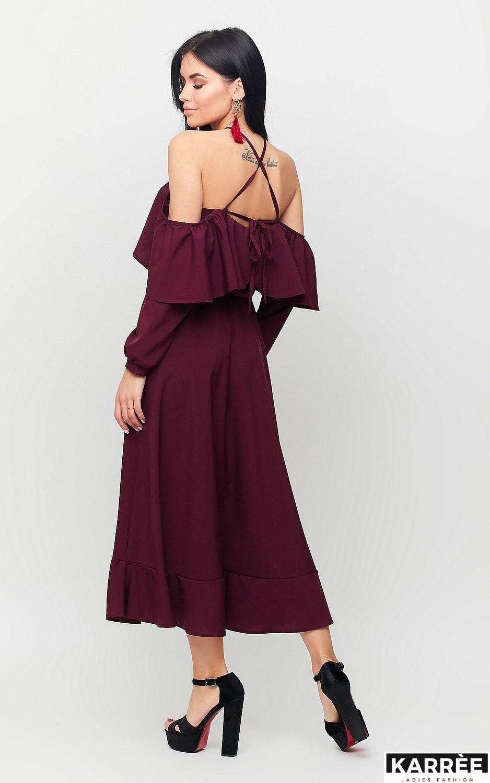 Платье Френсис, Бургунди