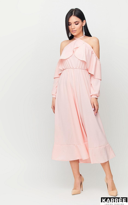 Платье Френсис, Персик - фото 5