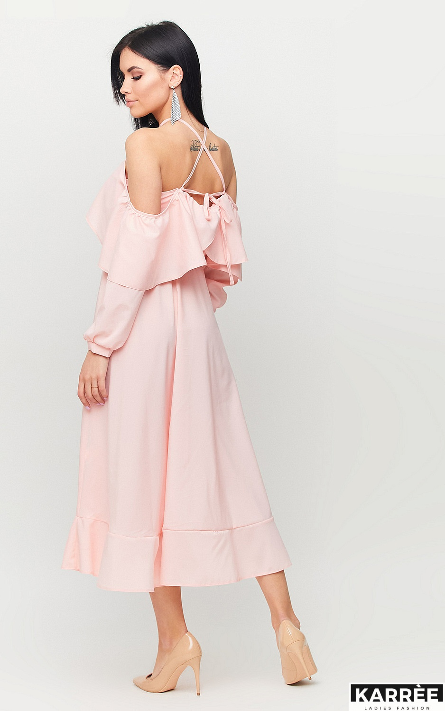 Платье Френсис, Персик - фото 4